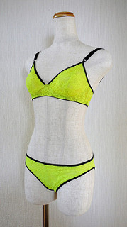 Neon yellow set