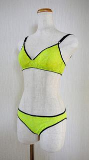 Neon yellow set