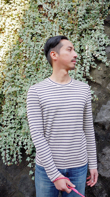 Striped Stratchona Henley