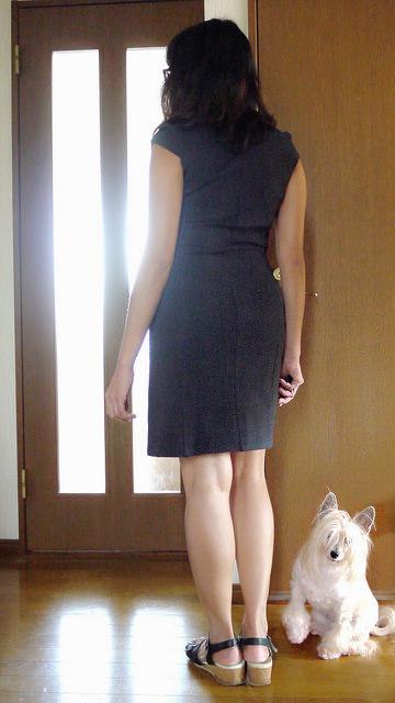 Cap sleeves dress - Bootstrap Fashion