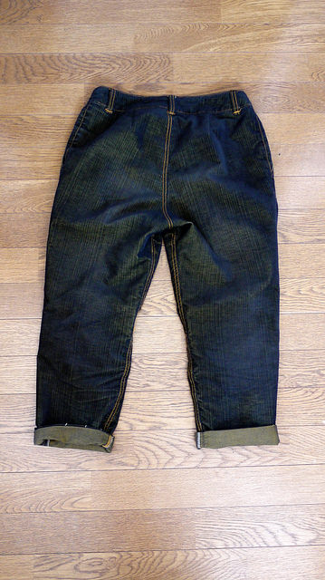 Evan denim pants (Tamanegi Kobo)