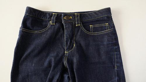 SJ tee and Sandra jeans