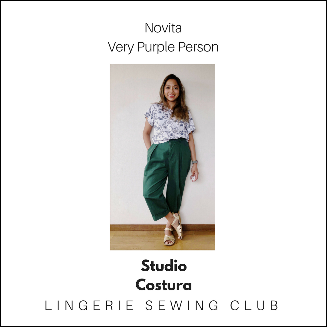 Lingerie Sewing Club – Guest posting at Studio Costura